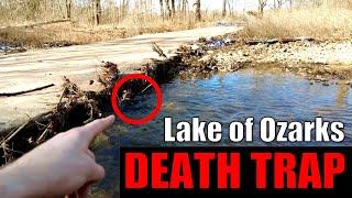 BEWARE! Hidden Lake of the Ozarks' Death Trap
