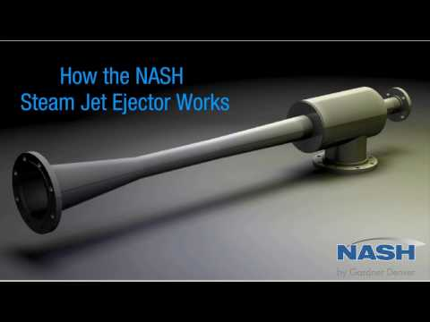 Steam Ejector - How It Works