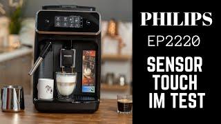 Philips EP2220 Sensor Touch Kaffeevollautomat im Test