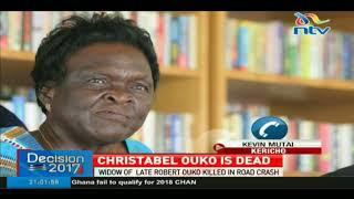 Christabel Ouko dies in road crash - VIDEO