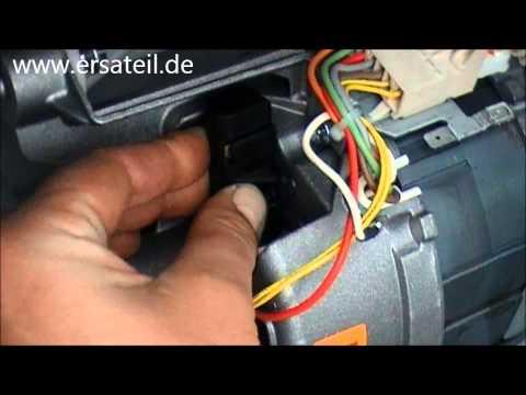 Video-Guide: Waschmaschine Kohlen wechseln