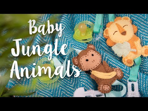 How to Create Jungle Animals Dummy Decoration - Sizzix