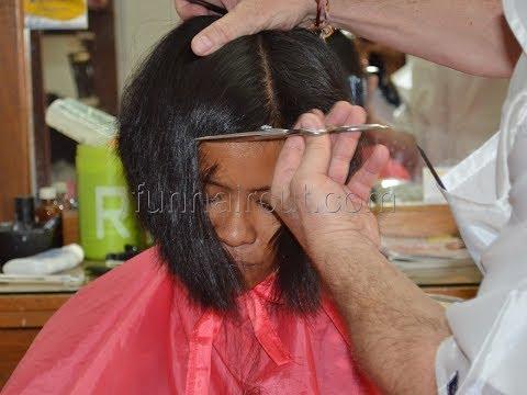 Woman Extreme Military Hair Cut 4d Videos Mp3