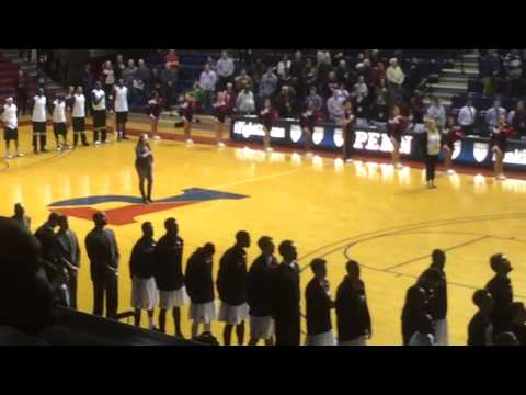 National Anthem Soloist @ the Palestra
