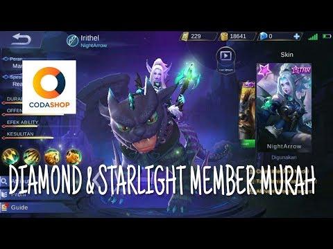 Tutorial Membeli Diamond & Starlight Member Murah (Codashop) - Mobile Legends