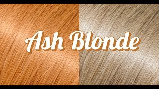 ASH BLONDE HAIR TUTORIAL!