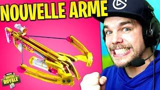 """NOUVELLE ARME """"ARBALÈTE"""" sur Fortnite: Battle Royale !!"""