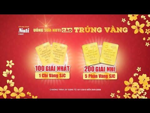 """NUTI CANXI _ """"UỐNG SỮA NUTI - CÀO TRÚNG VÀNG 2019"""""""