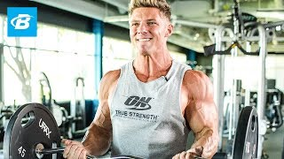 Steve Cook Smashes Arms And Shoulders by Bodybuilding.com