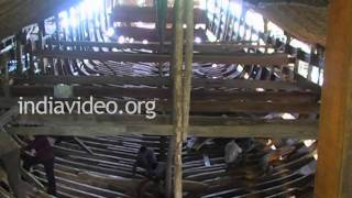 Uru making in Beypore, Kozhikode