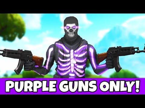 Download i ONLY used purple weapons with og purple skull
