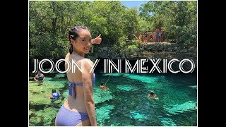 Summer Vacation in Mexico! 멕시코로 여름 휴가를 다녀왔어요! / Joonyaround #5 / 모델 김주현