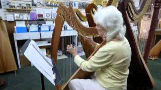 Mickail playing harp just created by Robert