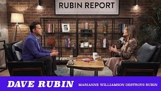 Is Dave Rubin Able To Absorb A Basic History Lesson From Marianne Williamson?... No! (TMBS 98)