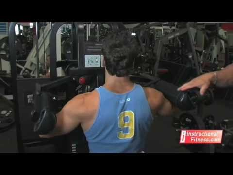 Instructional Fitness - Seated Side Laterals