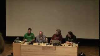 preview picture of video 'Ropecon 2012: Timo Multamäki and others: How to make money with roleplaying games'