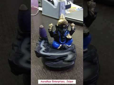 Polyresin Smokey Ganesha For New Year Gifts