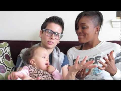"""Lesbian Couple: Our Two Mom Family Intro / """"Obama Wins!"""""""