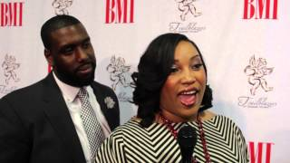 Tasha Page Lockhart on performing at the BMI Trailblazers of Gospel Music Luncheon