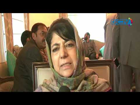 Mehbooba Mufti blames killings for low voter turnout in Anantnag