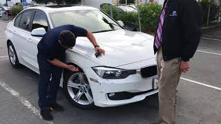 BMW lease end inspection