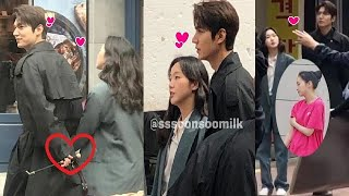 Lee Min Ho이민호❤️ Kim Go Eun 김고은 Got Caught Holding Hand In Behind The Scene The King Internal Monarch