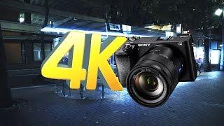 Portland Walk | 4K Sony A6300  - Zeiss 16-70mm | Low light test