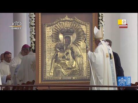 Messe au Sanctuaire de la Mère de Dieu d'Aglona (Lettonie)