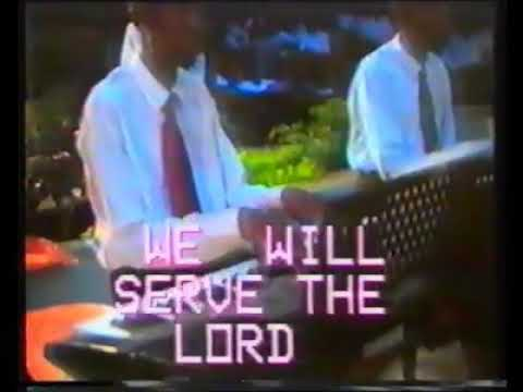 We will serve the Lord Medley Youth choir '98 classics
