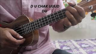 Kya Baat Ay - Harrdy Sandhu - Ukulele / Guitar lesson tutorial easy chords - Jaani b praak