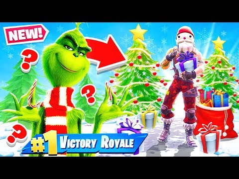 ESCAPING THE GRINCH *NEW* Game Mode in Fortnite Battle Royale