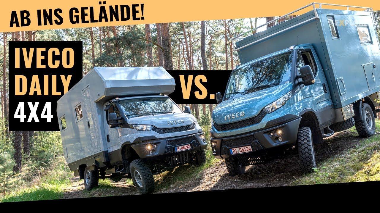 Offroad Wohnmobil Vergleich! Welcher Iveco Daily 4x4 Camper ist besser?