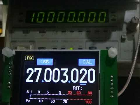 DDS AD9850 VFO signal generator SETTINGS - смотреть онлайн