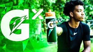 My Custom Gatorade Gx Bottle Unboxing, Review & Gx Drink Taste Test!