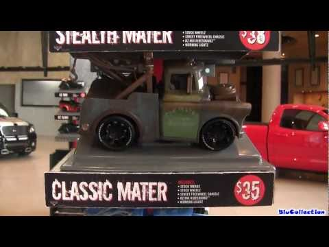 Disney Cars Ridemakerz Mater, Sally Custom Lightning McQueen Buildable Toys Cars2 By Blucollection