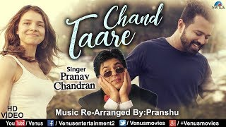 Chand Taare - Cover Song | Feat & Singer : Pranav Chandran | Yes Boss | Bollywood Recreated Songs