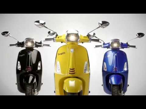 Vespa Sprint Video