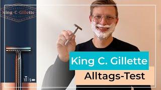 Rasierhobel von Gillette im Test   Taugt der günstige King C. Gillette Rasierer?