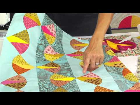 From the Sizzix Quilting Workshop: Bow Tie Block Piecing with Victoria Findlay Wolfe