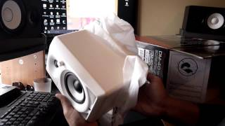 Livesosa reviews Pioneer Snow Edition DM 40's -Sound Test- unboxing