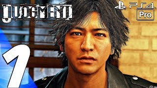 JUDGMENT   Gameplay Walkthrough Part 1   Prologue (Full Game) PS4 PRO