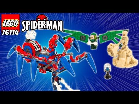 Vidéo LEGO Marvel 76114 : Le véhicule araignée de Spider-Man
