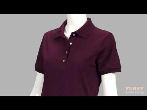 Unisex Jerzees Spotshield Polo Shirt - FunnyShirts.Org