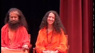 An Evening with Pujya Swami and Sadhviji at Grace Cathedral