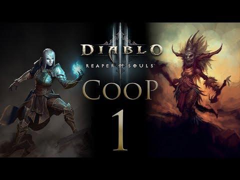 Diablo 3 Кооператив - Прохождение сюжета на русском - Запись стрима от 17.11.17 [#1] PC