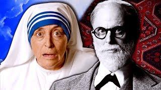 Mother Teresa vs Sigmund Freud. Epic Rap Battles of History