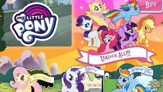My Little Pony: Harmony Quest #47 | Unlock ALL 6 PONIES! By Budge