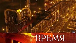 Узбекистан и российская компания ЛУКОЙЛ за 2 года в пустыне построили газоперерабатывающий комплекс.