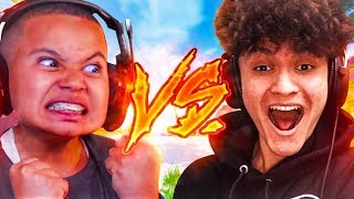 KAYLEN VS FAZE KAYS LITTLE BROTHER JARVIS!!! OMG YOU WONT BELIEVE THE OUTCOME! FORTNITE BR