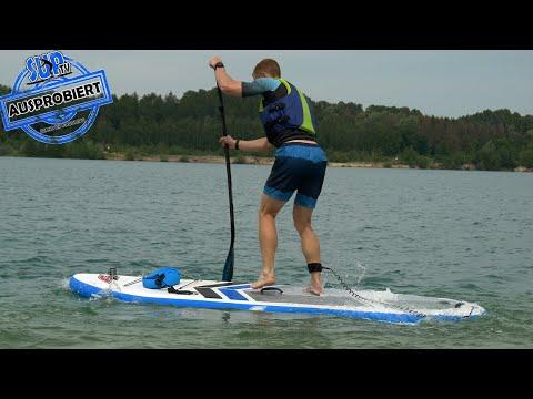 F2 SUP-Board vom Discounter (Lidl) AUSPROBIERT - Unsere ersten Eindrücke vom 250€ Lidl SUP-Board